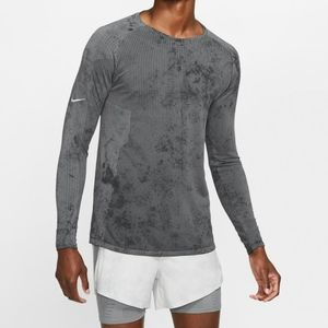 Nike Tech Pack Men's Gray Mid Layer Long Sleeve